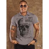 Camisa Polo Masculina Pit Bull Pitbull Pit Bul Jeans 26578 836d97e17da96