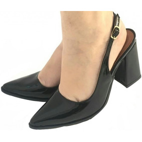 22d13372279 Sapato Chanel Couro Crocodilo Legitimo Feminino - Sapatos no Mercado ...