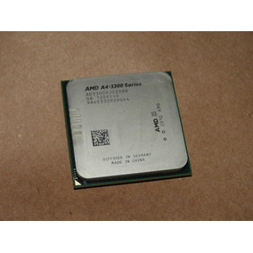 Amd A4 3300 Fm1 - 2,5ghz - Radeon Hd 6410d - Ok