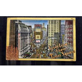 Cartão Postal Circulado 1949 Eua