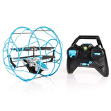 Airhogs Helicóptero Rollercopter, Color Blue/silver