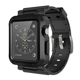 Carcasa Protectora Simpeak C/correa Gris P/reloj Apple 42mm