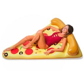 Pizza Flotador Inflable Gigante Floatie Kings