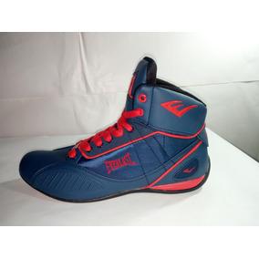 Tenis Everlast Punch 1 Azul Rojo Original Bax Gym Zumba