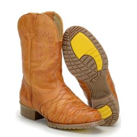 Bota De Peao Casco De Tatu - Sapatos no Mercado Livre Brasil a9633d6916c