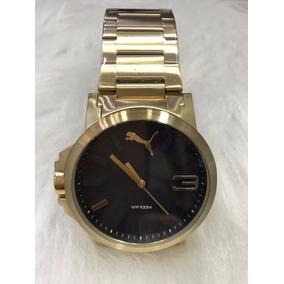 Relógio Puma Aço Inox Masculino - Relógios De Pulso no Mercado Livre ... bb3a0bb5e4055