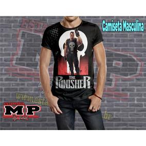 Camiseta Punisher   Justiceiro   Tematica   Cartoon   310 60ddbd18294