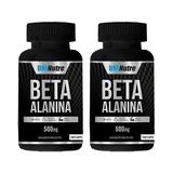 2x Beta Alanina - 240 Caps - 100% Puro - Envio Em 24h