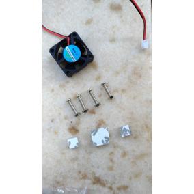 Kit Dissipadores E Cooler Para Raspberry Pi , Orange Pi