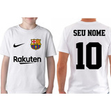 f9ae3c1656398 Camiseta Infantil Personalizada Com Nome Barcelona Neymar