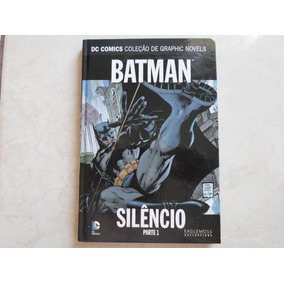 Graphic Novels Batman Silêncio Parte 1 Eaglemoss Capa Dura