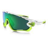 Óculos Oakley Jaw Breaker 9290-03 (jade Iridium)