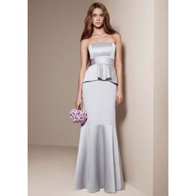 Vestidos de fiesta plata boda