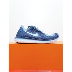 d50ae41f207 Tenis Nike Free Rn Flyknite Original - Nike Azul no Mercado Livre Brasil