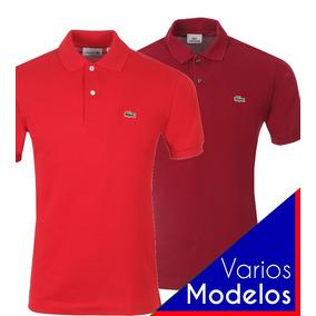 b5ef7a32937b6 Lacoste Polo Original Peruana Masculina Manga Curta Camiseta