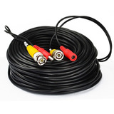 Cable Siamés Cctv 20m (no Son 18.5m) Video Voltaje