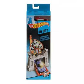 Hot Wheels - Pista Básica Robô Destruidor - Mattel