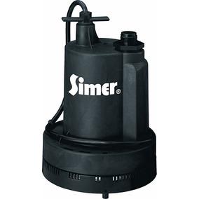 Simer 2305-04 Géiser Ii 1/4 Hp Bomba Sumergible De Utilidad