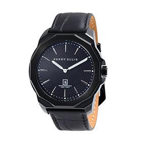 Reloj Perry Ellis Hombre Decagon De Cuarzo De 46 Mm 05006-