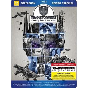 Steelbook Blu-ray - Coleção Transformers - 5 Filmes