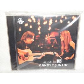 Cd - Sandy & Júnior - Acústico Mtv