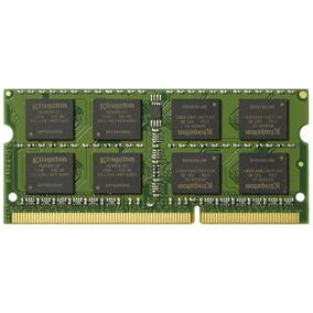 Memoria Ram Notebook Ddr3l 8gb 1600 Mhz Cl11 Sodimm Kingston