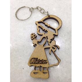 246495b081032 Lembrancinhas Chaveiro Em Biscuit Menininha - Artesanato no Mercado ...