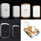 Home Security Led Alarma Inalámbrica Puerta Bell 1 Recepto