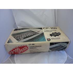 Computador Antigo Prologica Cp 200 Caixa Fita K7 Cp200