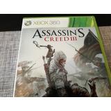 Juego Xbox 369 Assassins Creed Iii