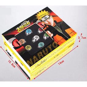Anel Akatsuki Kit Com 10 Anéis Ajustáveis - Naruto