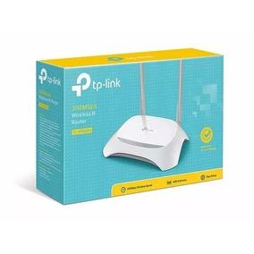 Roteador E Repetidor Tp-link Wireless N300 Mbps Tlwr 849n V6