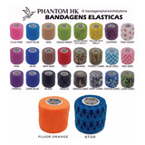 24 Bandagem Elástica 5cm Phantom Hk