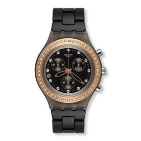 c2073804c42 Relógio Swatch Irony Diaphane Preto - Relógios no Mercado Livre Brasil