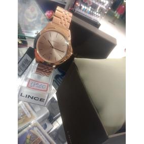 Relógio Lince Rose Lançamento Garantia E Nf