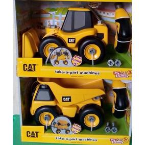 Bello Carro Volteo Desarmable Marca Cat Juegos Y Juguetes En