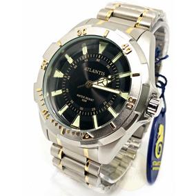 2991aed20e3 Relogio Original Atlantis Classico G3234 Em Aço Masculino - Relógios ...