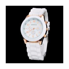 74b916b6fac Relogio Geneva Rose Feminino - Relógios De Pulso no Mercado Livre Brasil