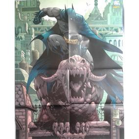 Poster Batman - 52 X 60 Cm - Editora Panini