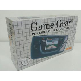 Caixa Vazia Game Gear Sega Nacional