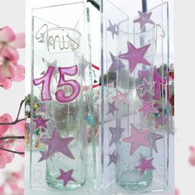 Floreros Y Centros De Mesa Para 15 Años - Souvenirs para tu ... c0bad947091c