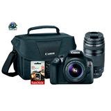Cámara Canon T6 + 2 Lentes + Sd32gb + Bolso %de Oferta