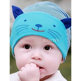 Touca Infantil Chapéu Bebê Criança Gatinho Criativa