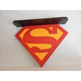 Prateleira Superman Super Homem Em Mdf E Fórmica 53x 65