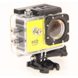 Camaras Acuaticas Sports Cam 1080p H.264 Full Hd Amarilla