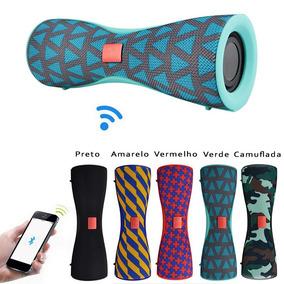 Caixa De Som Bluetooth Com Duplo Diafragma Linda Frt Grátis