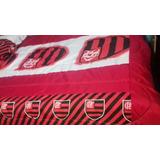 80fc134954 Edredom Do Flamengo Casal 1 Edredom+2 Travesseiro+2 Fronha