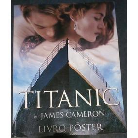 Livro Pôster Titanic 1997 Leonardo Dicaprio James Cameron