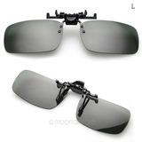 33cf11b1e119d Clip On Para Qualquer Oculos De Grau Uv 400 no Mercado Livre Brasil