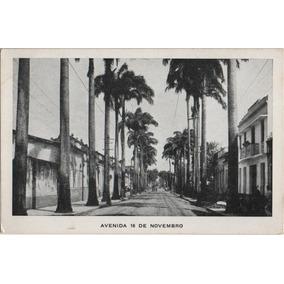 Lote Com 4 Cartões Postais Antigos De Belém Do Pará